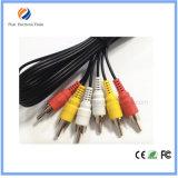 Heißer verkaufenRCA 3 bis 3 RCAhandels RCA-Kabel für CCTV-Kabel