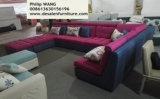 Nuovo stile, grande sofà del tessuto di figura di U (W11)