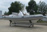 Aqualand 16feet 4.7m de Stijve Opblaasbare Boot van de Motor Fiberlass/de Boot van de Snelheid (RIB470C)