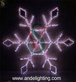 3*3m de Lichten van de Grote LEIDENE Sneeuwvlok van Kerstmis voor de Decoratie van de Straat