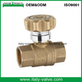 Ce Certificated Italycopper Made Brass Y-Strainer Ball Valve (AV10066)
