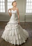 Robe de mariage sans bretelles de la dernière conception 2011 (CL1659)