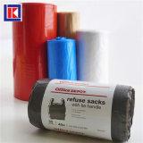 LDPE/HDPEのおあつらえのねじれタイのごみ袋