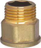 Ajustage de précision en laiton de connecteur de prolonge de Hexgon (YD-6010)