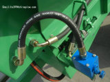 Écarteur d'engrais traîné par entraîneur de prix bas d'usine avec la double plaque de propagation