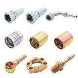La production avancée a modifié l'ajustage de précision mâle de boyau hydraulique avec du ce et la conformité d'OIN (12211)