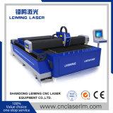 Laser Cuttr de la fibra de Lm3015m para el corte de la placa del tubo del cuadrado del metal