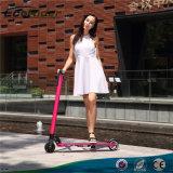 Form-schwanzloser Falz-elektrischer Roller Hoverboard 350W elektrischer Stoß-Roller für Erwachsene