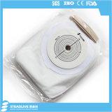 Heiß-Verkauf des weißen Colostomy-Beutels für Ostomy Person, maximaler Schnitt: 65mm