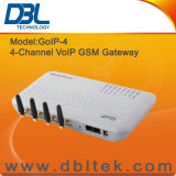 Входной VoIP GSM каналов/портов IMEI Change/4