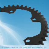 Peça fazendo à máquina de trituração preta de aço do CNC da precisão EDM do revestimento de China