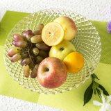 Plaque de dîner en verre d'aperçu gratuit chaud de vente/plaque de fruit/plaque de dîner