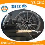合金の車輪のダイヤモンドの切断の旋盤のSyntec CNCの旋盤機械