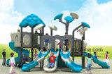 中国の低価格の高品質のプラスチックスライドの子供(TY-70232)のための屋外の就学前の冒険の運動場装置