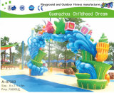 De Spelen van het water voor de Speelplaats van het Park van het Water van het Vermaak (hd-7105)