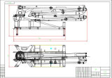 33mの品質の中間のサイズ具体的な置くブームポンプトラック中国製