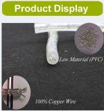 Lumière verticale respectueuse de l'environnement de corde de 2 fils DEL de lumière extérieure de décoration