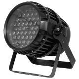 Iluminação de palco de LED RGBW 54X3w PAR Luz CAN