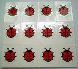 In het klein verkopen MiniGolfball die Stickers merken (st-025)