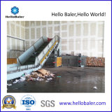 Horizontal semi-automática de papel prensa de balas de residuos (HSA7-10)