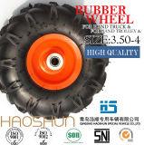إطار حامل متحرّك إطار رابية هوائيّة مطّاطة عجلة إطار العجلة 3.50-4