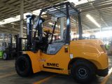 Nagelneuer Dieselgabelstapler 3.5 Tonne mit doppelten vorderen Reifen
