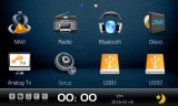 Auto-Navigation und Multimedia DVD befestigt für Honda Civic
