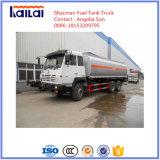 Caminhões do depósito de gasolina de Shacman 6X4 25m3 para a venda