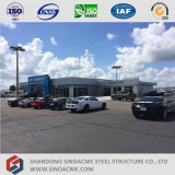 Estrutura de aço prefabricadas Sinoacme Concessionário Automóvel recordações