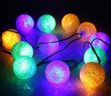 Décorations de Noël en plein air Lumière à cordes solaires à vendre