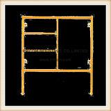 BJ-stijl de Gele Poeder Met een laag bedekte Frames van de Steiger