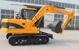 8 ton 9 ton 15ton escavadora de rastos com marcação com o preço de venda