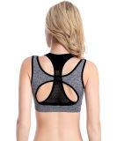 Gilet Fashion faux deux sous-vêtements sportifs de type High-Elastic serré de l'exécution Shake-Proof Seamless Underwired Yoga salle de gym de bras