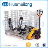Armazém dobrável Pet Preforms Wire Mesh Container