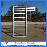 1,17 м x 2,2 м для тяжелого режима работы крупного рогатого скота раздвижной дверцы