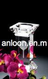 Crystal Candle Holder Met 3d Laser Engraving Inside Home Decoration