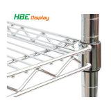 Wire Mesh métal chromé réglable Rack de stockage