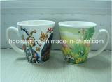 Tazze di ceramica a forma di V, tazze di ceramica 12oz
