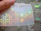 Anti-Fake Marks Printed PVC Card mit UVLight Printing, Microtext, Watermark