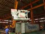 Jh Hzs marca50/60/75 parado mezcladoras de hormigón/planta de procesamiento por lotes en venta