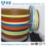Perfil de plástico em forma de U de PVC/c do tipo lábio bandagem Lipping