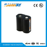 de alta energia Density Battery de 6V 1500mAh para Tire Leak Detetor (CR-P2)