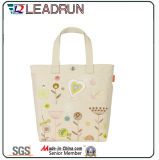 Sacchetto di acquisto non tessuto della mano della tela di canapa del cotone del cuoio del sacchetto di acquisto dello zaino (X036)
