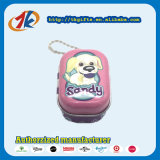 De promotie Vierkante Doos van het Tin Keychain met de Plastic Dierlijke Fabrikant van de Hond van het Speelgoed