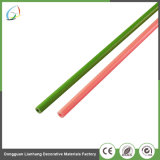 Pultruded FRP sólido de varilla de empuje de fibra de vidrio.