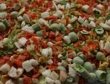 Geler les légumes secs des mélanges de fruits Légumes Fruits Fd Fd mixte