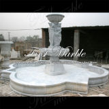 Grande fontaine de Carrara de sculpture Sculpture pour Craft Mf-569