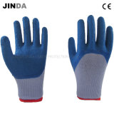 Покрынные латексом трудные защитные перчатки работы безопасности (LH504)