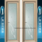 二重ガラスアルミニウムシャワーのドア
