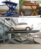 CE hydraulique voiture Scissor Lift
